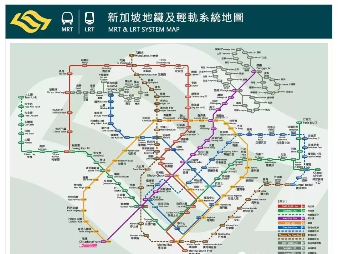 新加坡地图1